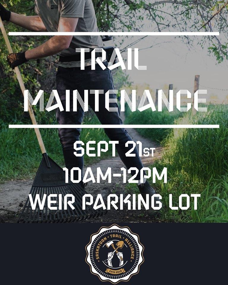 Trail Maintenance – September 21st