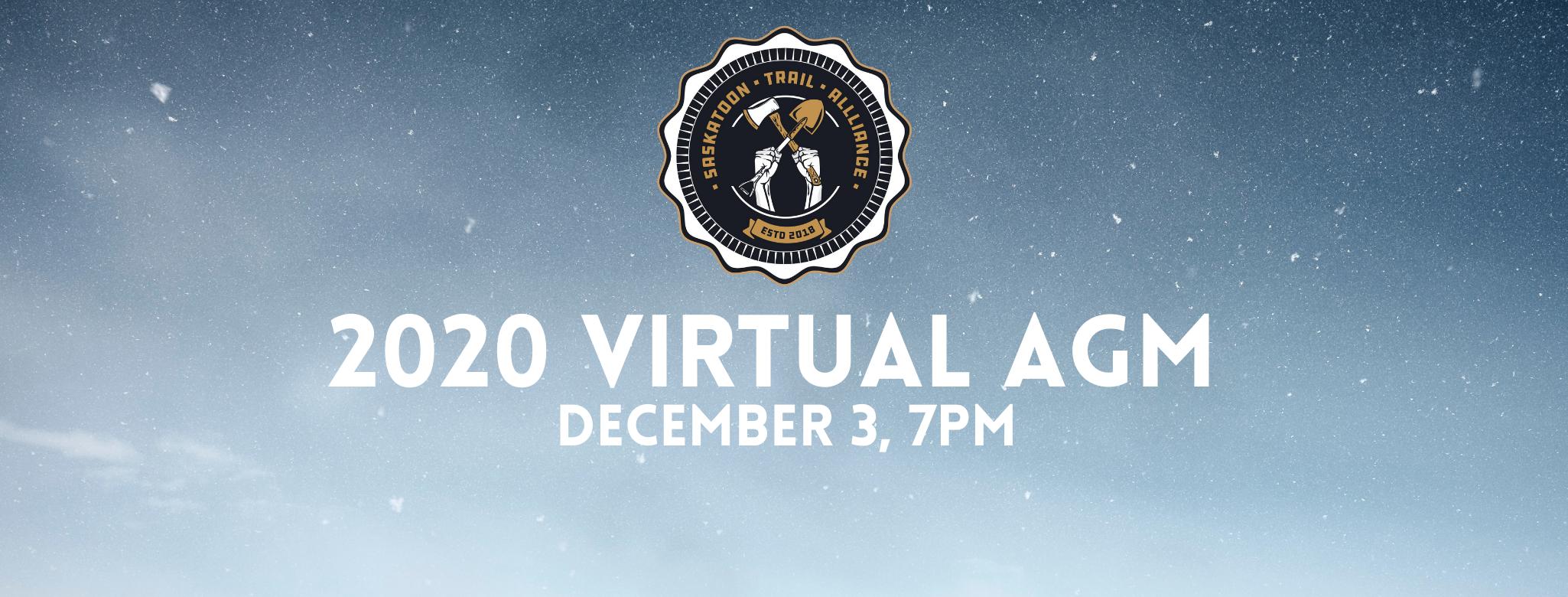 2020 Virtual AGM – December 3